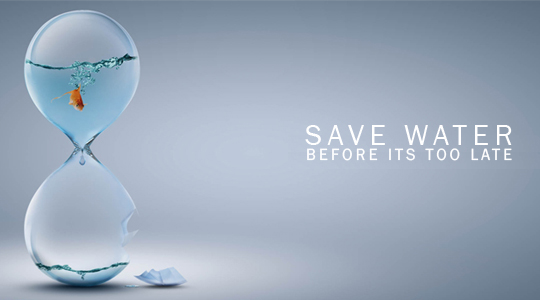 Every Drop Counts… Reduce your water use